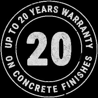 Up to 20 years warrany