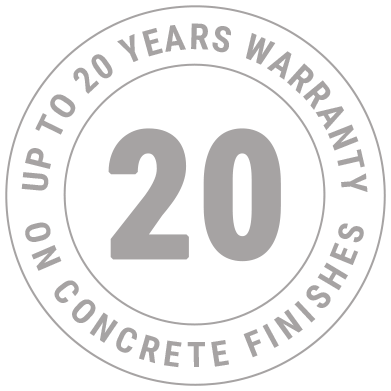 Up to 20 years warranty