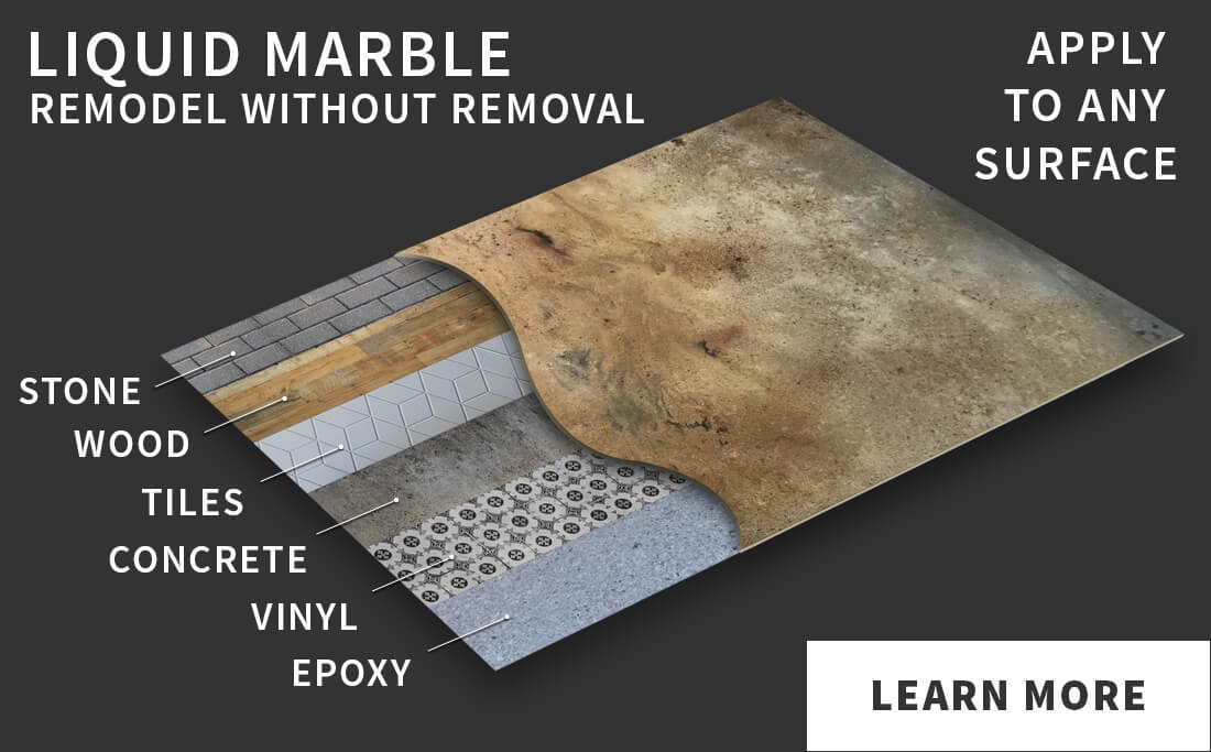 LIquid Marble - Remodel without removal